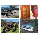 Estate Auction Antiques Farm Equipment