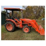 2012 Kubota L3200 with 289 Hours