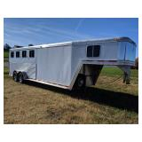 2004 Featherlite 4 Horse Trailer