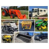 Truck Car Tractor, Machinery, Trailers, Equipment
