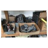 Two Shelves Miscellaneous Heater Parts And