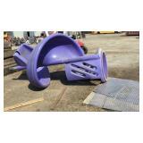 Purple Kids Slide