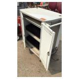White Computer Cabinet
