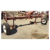 Bar Flat Mower W/ Gauge Wheels