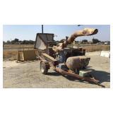 Wood Chipper, Lp Gas Engine