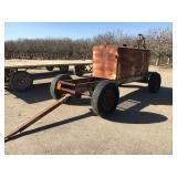 Four wheel trap wagon