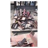 Pallet Of Drawbars And Clamps