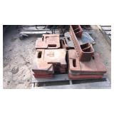 Pallet Of I H Tractor Weights