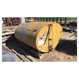 Yellow Fuel Tank