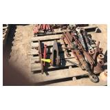 3- Pallets Of Toplinks, Spools& Clamps