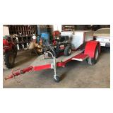Trailer Mounted Pressure Washer W/ss Tank
