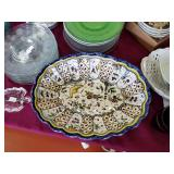 Flea market glassware