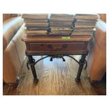 2PC NATIONAL MT. AIRY  END TABLE W DRAWER
