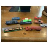 LOT OF METAL TOYS / TRAINS MORE
