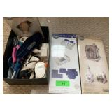 LOT OF SIZZIX CUTTERS / CRAFTS MORE