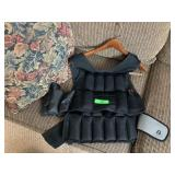CAP WEIGHTED VEST W MACE