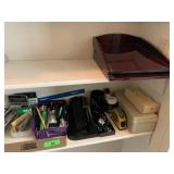 LARGE LOT OF OFFICE SUPPLIES / MORE