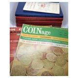 LOT OF VTG COIN BOOKS