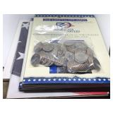 LARGE LOT OF STATE QUARTERS / 178 QUARTERS