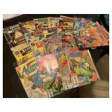 LARGE LOT OF ACTION COMICS