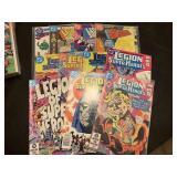 LOT OF LEGION OF SUPER HEROES COMIC BOOKS