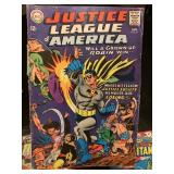 JUSTICE LEAGUE OF AMERICA #55 KEY ISSUE