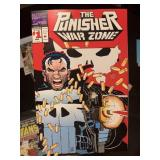 #1 THE PUNISHER WAR ZONE COMIC BOOK
