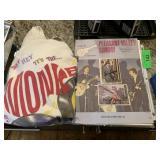 MONKEES 2 PC DAVY JONES AUTOGRAPHS