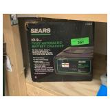 SEARS FULLY AUTOMATIC BATTERY CHARGER