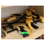LARGE LOT OF CLAMPS