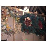 3PC LARGE CHRISTMAS WREATHS