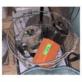 BASKET W ROUTER BITS AND MORE