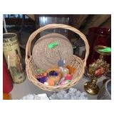 HANDLED BASKET  DECOR AND MORE