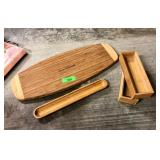 LARGE LOT OF CUTTING BOARDS MORE