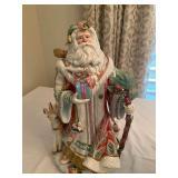Santa Claus Figurine by FITZ & FLOYD