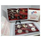 2005 US SILVER MINT PROOF COIN SET