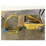 TILE SAW AND ELECTRIC CORD