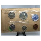 1961US MINT SILVER PROOF COIN SET