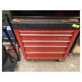RED ROLLING CRAFTSMAN TOOLBOX W TOOLS