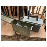 2PC AMMO BOXES W HITCH AND MORE/ TOW STRAPS
