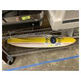 JERSEY SHORE DECORATIVE SURFBOARD