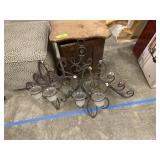 LARGE LOT OF WALL DECOR / CANDLE SCONCES