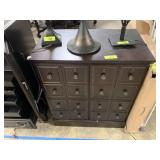 LOVELY CABINET W FAUX DRAWER DOORS