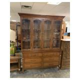 GORGEOUS CHINA CABINET (2 PCS EASIER TO MOVE)