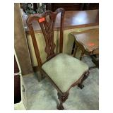 ANTIQUE CHIPPENDALE STYLE BALL CLAW DINING CHAIR
