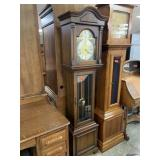 VTG WEST GERMAN GRANDFATHER CLOCK