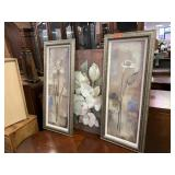 3PC WALL ART LOT