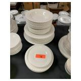 LOT OF MISC WHITE CHINA