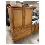 BROYHILL UPRIGHT DRESSER / ARMOIRE