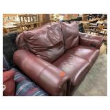 LEATHER POWERED RECLINER WORKING
